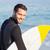 yakışıklı · adam · gülen · mesire · mutlu · deniz - stok fotoğraf © wavebreak_media