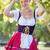 güzel · bir · kadın · açık · havada · dantel · elbise · güzel · kadın - stok fotoğraf © wavebreak_media