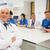 медик · улыбаясь · камеры · университета · человека - Сток-фото © wavebreak_media