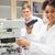 tudós · mikroszkóp · laboratórium · tárgy · nagyítás · férfi - stock fotó © wavebreak_media