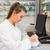 junior pharmacist mixing a medicine stock photo © wavebreak_media