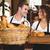 serveuse · alimentaire · plateau · restaurant - photo stock © wavebreak_media