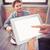 ウエートレス · 注文 · レストラン · 女性 · 紙 - ストックフォト © wavebreak_media