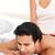 женщину · массаж · дружок · кровать · домой - Сток-фото © wavebreak_media