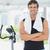 フィットネス · 若い男 · ジム · 自転車 · カーディオ - ストックフォト © wavebreak_media