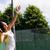 pretty tennis player about to serve stock photo © wavebreak_media