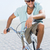 handsome man on a bike ride stock photo © wavebreak_media
