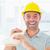 alegre · masculino · carpinteiro · retrato - foto stock © wavebreak_media