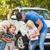 家族 · 実例 · 女性 · 少女 · 子 · 砂 - ストックフォト © wavebreak_media