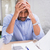 疲れ · ビジネスマン · 書類 · デスク · 小さな - ストックフォト © wavebreak_media