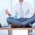zen · zakenman · yoga · meditatie · bureau · business - stockfoto © wavebreak_media
