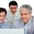 internationale · zakenlieden · werken · computer · kantoor · laptop - stockfoto © wavebreak_media