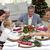 Turchia · Natale · alimentare · tavola · carne · cottura - foto d'archivio © wavebreak_media