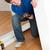 sorridente · homem · mobiliário · martelo · casa - foto stock © wavebreak_media