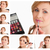 collage of a young woman getting made up stock photo © wavebreak_media