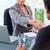 jonge · zakenvrouw · klant · kantoor · business · computer - stockfoto © wavebreak_media