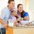 familia · feliz · cocina · ingredientes · sonrisa · hombre - foto stock © wavebreak_media