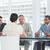 kandidaat · sollicitatiegesprek · kantoor · vergadering · zakenman · pak - stockfoto © wavebreak_media