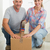 gelukkig · paar · karton · oude · home - stockfoto © wavebreak_media