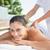 sorridere · bruna · massaggio · fuori · spa - foto d'archivio © wavebreak_media