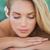 paisible · serviette · femme · hôtel - photo stock © wavebreak_media
