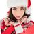 heureux · brunette · plein · cadeaux - photo stock © wavebreak_media