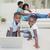 mère · utilisant · un · ordinateur · portable · enfants · cuisine · ordinateur · femme - photo stock © wavebreak_media