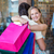 gelukkig · mall · verkoop - stockfoto © wavebreak_media