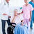 Serious medical team taking care of a senior woman stock photo © wavebreak_media
