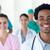 Multi-ethnic medical people smiling at the camera  stock photo © wavebreak_media