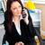 işkadını · konuşma · telefon · ofis · iş - stok fotoğraf © wavebreak_media