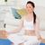 yoga · gimnasio · alfombra · salón · casa - foto stock © wavebreak_media