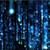 lines of blue blurred letters falling stock photo © wavebreak_media