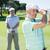 golfozó · klub · ködös · nap · golfpálya · sport - stock fotó © wavebreak_media