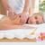 Woman receiving shoulder massage at spa center stock photo © wavebreak_media