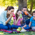 happy family on a picnic in the park stock photo © wavebreak_media