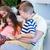 両親 · 子供 · 一緒に · アジア · 実家 - ストックフォト © wavebreak_media