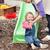 女の子 · ブロンド · 母親 · 遊び場 · 家族 - ストックフォト © wavebreak_media