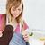 mulher · de · costura · casa · cozinha · negócio · feliz - foto stock © wavebreak_media