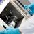 jóvenes · científico · experimento · laboratorio · médico · trabajo - foto stock © wavebreak_media