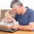 avô · casa · juntos · neto · usando · laptop - foto stock © wavebreak_media
