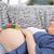 hamile · genç · kadın · göbek · ev · bebek - stok fotoğraf © wavebreak_media