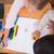 мнение · школьницы · рисунок · классе · девушки - Сток-фото © wavebreak_media