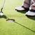 jogador · de · golfe · golfball · sapatos · vertical · tiro - foto stock © wavebreak_media