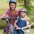 Mutter · Tochter · Fahrrad · Mädchen · Frühling - stock foto © wavebreak_media