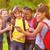 composite image of cute pupils using mobile phone stock photo © wavebreak_media