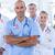 artsen · borstkanker · bewustzijn · lint · geneeskunde · gezondheidszorg - stockfoto © wavebreak_media
