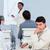vervelen · zakenman · conferentie · collega's · vergadering · werk - stockfoto © wavebreak_media