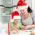 Noel · kurabiye · iki · çocuklar · çocuk · tablo - stok fotoğraf © wavebreak_media