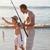 отцом · сына · красивой · воды · семьи · любви - Сток-фото © wavebreak_media